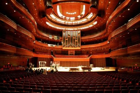 The Kimmel Center Forthe Performing Arts Verizon Hall