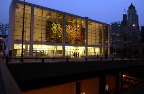 Harris Theater Chicago Illinois