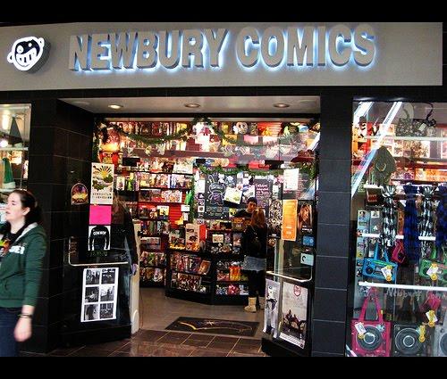 Newbury Comics Newbury St Boston Massachusetts