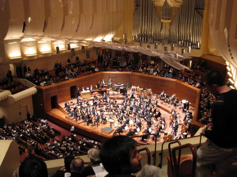 The San Francisco Symphony (SFS), founded in , is an American orchestra based in San Francisco, California. Since , the orchestra is resident at the Louise M. Davies Symphony Hall in the City's Hayes Valley neighborhood.