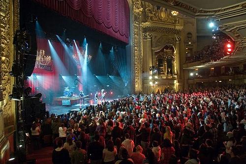 The Chicago Theatre Chicago Illinois