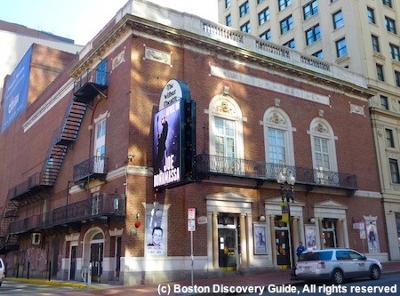 The Wilbur Theater Boston Massachusetts