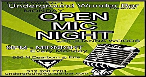Underground Wonder Bar Open Mic